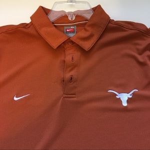 University of Texas Longhorns Men's Polo Shirt XL